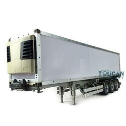 Hercules 1/14 40ft Metal Chassis Reefer Container Semi-trailer Rc Tractor Truck