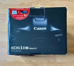 Canon Eos 1dx Mark Ii Dslr Camera Body Only Come With Original Accessories