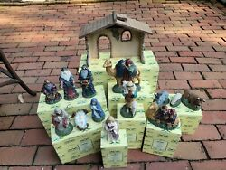 2000 Belsnickle Nativity Set - Complete With Boxes - See Details And Pictures