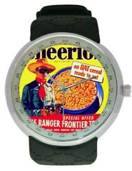 Lone Ranger Cheerios Cereal 1948 On A Watch