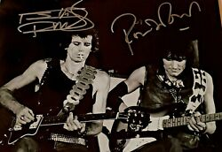 Rolling Stones Greats Richards And Wood Personally Autographed/signed Photo 8x10