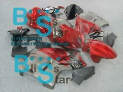 Red Gray Gsxr1300 Fairing With Tank Seat Fit Gsx-r1300 98 99 97-07 63 A6