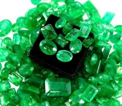 5000 Ct / 1 Kg Stunning Natural Colombian Emerald Mix Shape Wholesale Lot