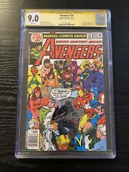 Avengers 181 Cgc 9.0 Ss 1st Appearance Scott Lang Ant-man Signed George Perez
