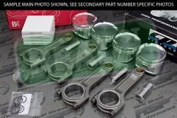 Cp X-style Pistons Brian Crower I Beam Rods Vtec B18a B18b 81mm 12.51