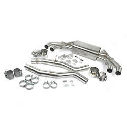 Dinan D660-0086 Free Flow Axle-back Exhaust - Compatible With Polished Tips
