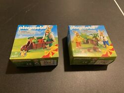 Rare Playmobil Bunny Easter Sets Brand New Sealed Boxes
