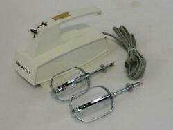 Dormeyer Vintage Hand Mixer - Ro 7-1 White - 3 Speed - Very Rare Collectable