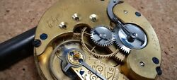 Elgin. 137 Years Old. Convertibe Pocket Watch Movement. 16 S 11j. Just Serviced.