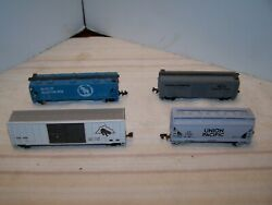 N Scale Freight Cars Lot Of Four N Scale Train Lot