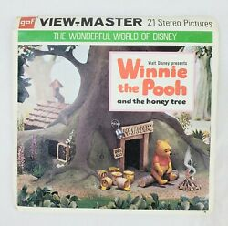 Winnie The Pooh And The Honey Tree View-master 3 Reel Pack With Booklet-b362