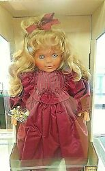 Lissi Batz Bätz Paige 21 Doll Artist Signed 1993 May Vintage Made In Germany