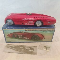 Schylling Collector Series Red Tin Sunbeam 1000 Land Speed Record Car W/key