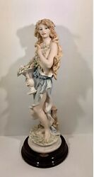 giuseppe armani florence porcelain figurines Spring Lady With Flowers