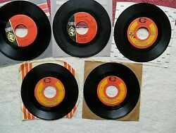 Lot Of 5 Question Mark And The Mysterians 45 Rpm Vinyl Records Cameo/parkway 1960s