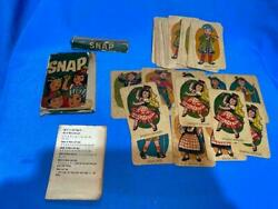 Old Vintage Snap Card Game From Leo Toys Co. India 1986 .