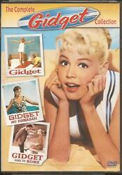 Gidget The Complete Collection Dvd 2 Disc Set Containing All 3 Films Rare 2004