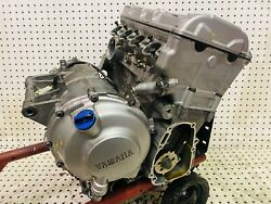 2001 Yamaha Yzf R6 Replacement Engine Motor Block Assembly 17585 Miles