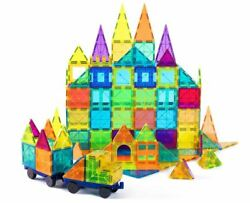 Magnetic Tiles Toys 120 Piece Set Cossy
