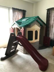 Used Pristine Condition Step 2 Welcome Home Playhouse Little Tikes Slide Bundle