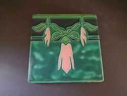 Motawi Tileworks - 6x6 Sweet Pea Flowers Tile - Excellent Condition
