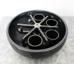 Sorvall H-6000a/hbb-6 Centrifuge Swing Bucket Rotor With 4 Buckets 1000ml Each
