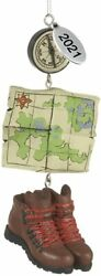 Camping Ornaments 2021 - Backpacking, Hiking Ornament - Comes In A Gift Box