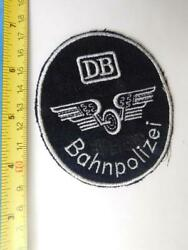 West Germany Police National Railway 1957 69 Vintage Patch Crest Badge Collector