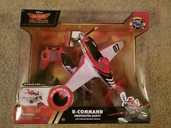 Disney Planes U-command Firefighter Dusty Rc Toy Infrared Remote Control Plane