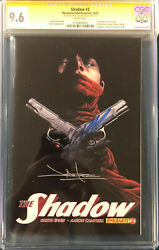 Garth Ennis And Jae Lee Signed The Shadow Comic Cgc 9.6 Not Cbcs The Boys Preacher