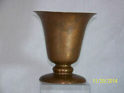 Dirk Van Erp Mission Arts And Crafts Hand Made Copper Chalice Vase