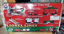 7-11357 Lionel Lines Christmas Train Set 2011,5 Cars, Infra-red Remote, Music +