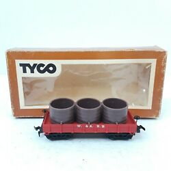 Vintage Tyco 322b Ho Scale Western And Atlantic 1860 Water Car W/box