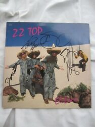 Zz Top El Loco Lp Signiert Autogramm Fully Signed Autograph Dusty Hill Inpers