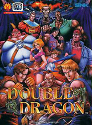 Double Dragon Snk Neo Geo Ng Aes Japan Neogeo Video Game