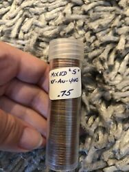 Vintage Penny Roll Mixed S Not Wheat Back