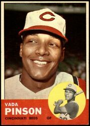 1963 Topps 265 Vada Pinson Reds 6 - Ex/mt