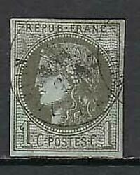 France - Mail 1870 Yvert 39a Used