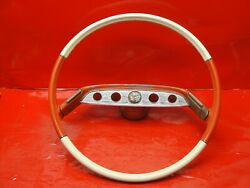 1961 Chevrolet Impala Steering Wheel Chevy Bubble Top Lowrider Gm Accessory