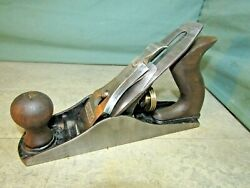 Stanley Bailey No 3 Wood Plane. Used Woodworking Tools. Smoothing Plane.