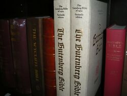 Extremely Rare 1454 Gutenberg Bible In Color 2 Volumes Watchtower Research