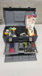 Plano 757 Tackle Box W/tons Of Lures And Tackle