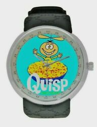 Quisp Breakfast Cereal Watches New Colorful Vintage Poster Watch
