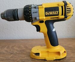 Dewalt 18v Heavy Duty Xrp 1/2 Cordless Drill Driver Dc987 2000 Rpm Tool Only