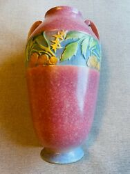 Single Largest Baneda Piece In The Entire Line Huge 15andrdquo Rare Roseville Pottery