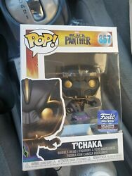 Funko Pop Black Panther Tand039chaka Hollywood Exclusive 867