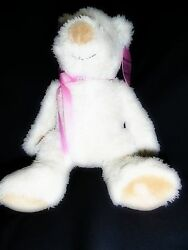 Audrey Silk And Satin Teddy Bear With Removable Choker Necklace