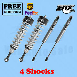 Fox Shocks Kit 4 Front 0-2 And Rear 0-1 Lift For Toyota Tundra 2000-2006