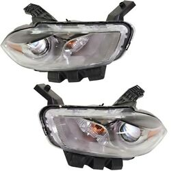 Set Of 2 Hid Headlights Lamps Left-and-right Hid/xenon Lh And Rh For Dart Pair