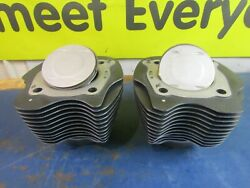 Harley 117 Screaming Eagle Milwaukee 8 Granite Standard Bore Cylinder And Pistons